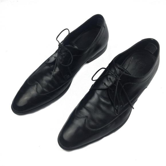 8b9dff571d9f1 Hugo Boss Men's lace up wingtip shoes Size 7